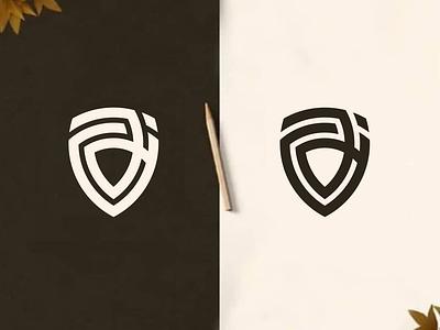 ajH Logo Concept motion graphics graphic design 3d animation ui ux illustration branding brand identity icon design vector monogram logo logo