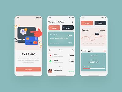 Money Saving Mobile App mobile app design uiuxdesign uiux dribbble best shot dribbble ui ux mobile app minimal design app design app