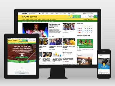 Rio Olympics 2016 online branding