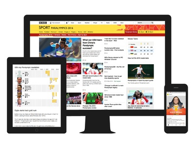 Rio Paralympics: Online coverage
