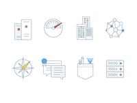 Atlassian Enterprise Feature Icons