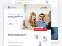 Page Design for Axa Sigorta