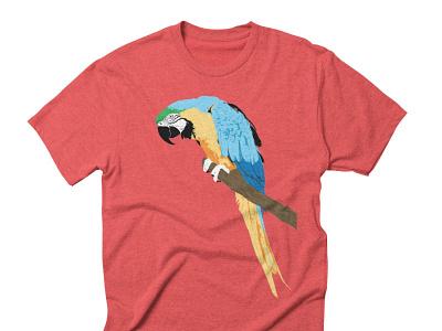 Parrot t-shirt shirt bird parrot
