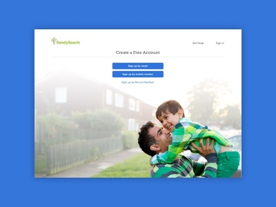 FamilySearch Registration account creation genealogy familysearch registration