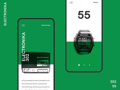 Electronika uiux mobile ux ui creative presentation appdesign app design android designconcept concept