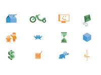 Child Care Survey Icons