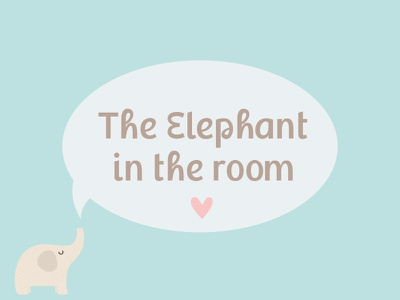 """New font """"phan"""" graceful letters elephant type relax happy playful kids shower baby fun font"""