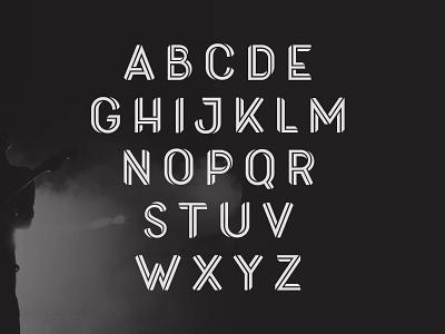 New Font - Loophold (2) crazy escher display type impact typography illustration design logo modern geometric font