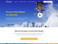 Ossur Homepage Redesign