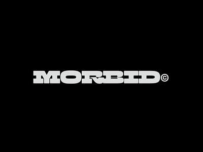 Morbid type design fonts slab design type typography