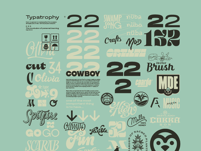 Type collage 1 design type fonts lettering typography