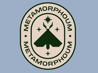 Metamorphoum badge icon typography typedesign type