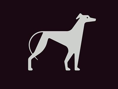 Galgo icon design icon dog