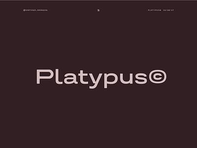Platypus© wide sans sans platypus letters typography design type type design