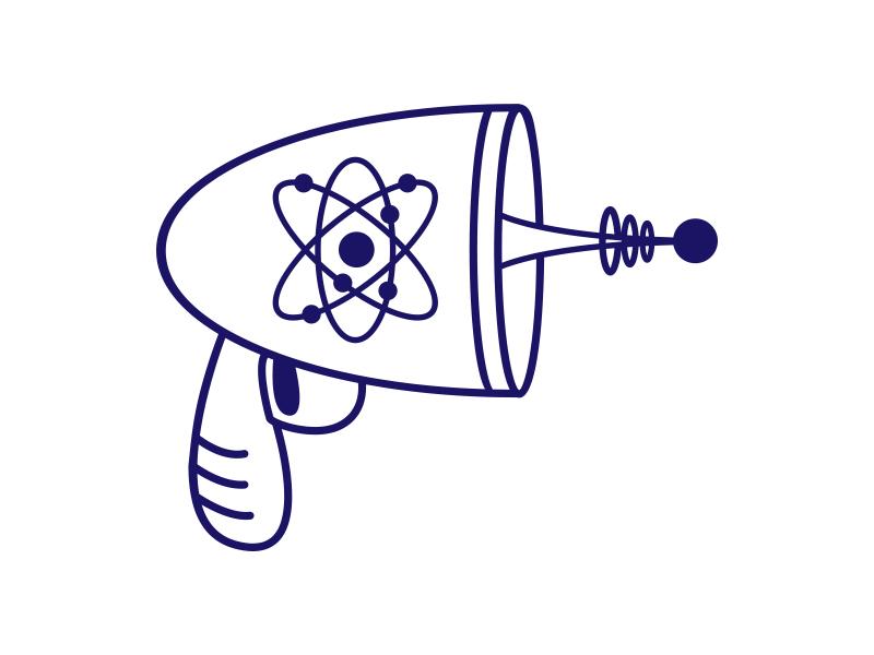 Ray Gun atomic ray gun sci-fi