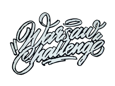 dribbble WCip freehand script handwritten typography typografia powerscripts litery liternictwo lettering kaligrafia handwriting calligraphy