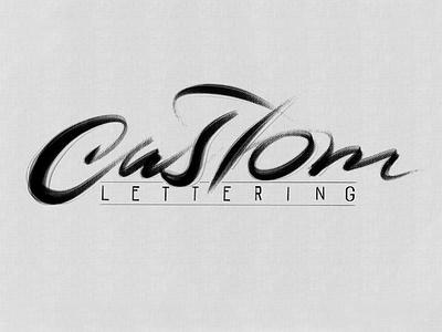 Custom Lettering typography typografia script powerscripts litery liternictwo lettering kaligrafia handwritten handwriting freehand calligraphy