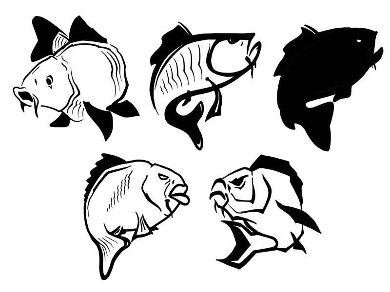 carp logo concept by powerscripts dribbble rh dribbble com carp logo design carp log app