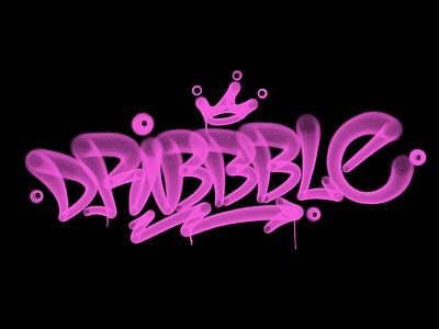 Dribbble Sticker typography typografia script powerscripts dribbble sticker tagging kaligrafia handwritten handwriting freehand calligraphy