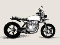 Honda CBF250 Scrambler