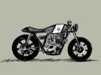 Yamaha XS400 Cafe Racer