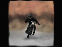 Autumn motorcycle ride