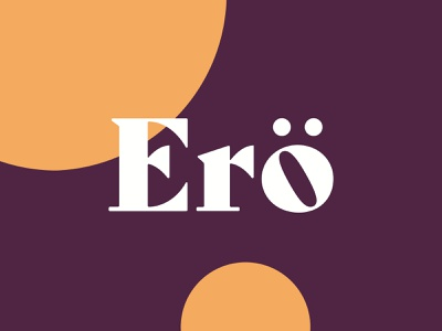 Ero Cake Co, Logo typography vector kuwait brand identity brand design branding logo design logotype logo