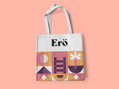 Ero Cake Co, Bag bag modern abstract brand identity design logo pattern branding typography vector illustration