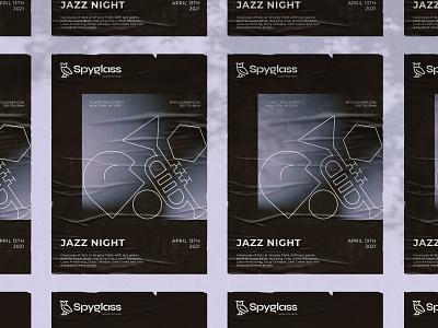 Poster - Spyglass Rooftop Bar poster design logotype illustraion brand identity brand design typography design logo branding modern