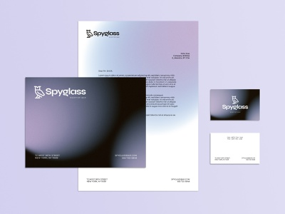 Stationery Design - Spyglass Rooftop Bar bar foortop stationery brand identity brand design logotype business card logo branding typography design
