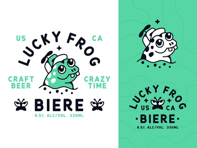 Lucky Frog Craft Beer