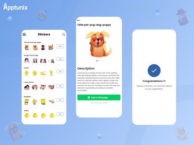 How to Use and Create Chat Sticker App? snapchat chat stickers chat app appdevelopmentcompanies appdevelopmentcompany design logo illustration animation