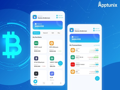 An Ultimate Guide - How to build Cryptocurrency App? design illustration mobile apps mobile app development apptunix cryptocurrency app trading apps appdevelopmentcompanies animation appdevelopmentcompany appdevelopment