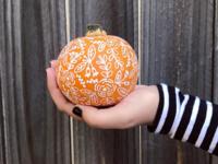 Halloween Pumpkin Decorating!