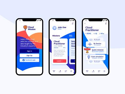 Learning iOS app mobile app design mobile design mobile ui mobile app learning app ios app logo product design productdesign app design learning mobile ui ux