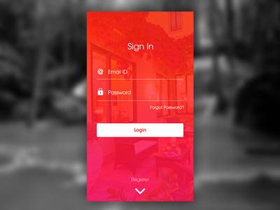 Mobile App - Sign In