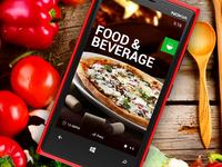 Windows - Food Mobile App