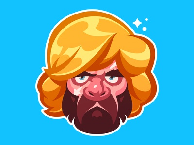 Tyrion | The Little Lion inspired series lannister vector lion tyrion fanart illustration game of thrones got hbo character