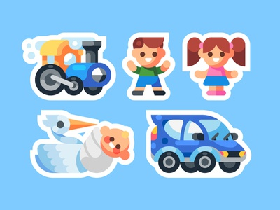 Family Icon Pack 2