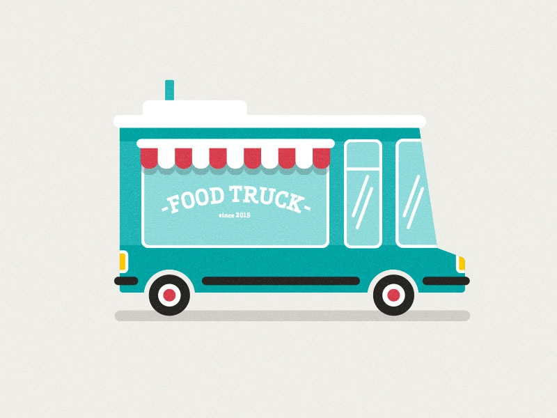 Foodtruck by pat grivet dribbble for Food truck design app