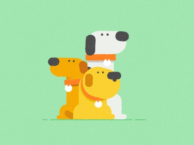 Doggy Style wip vector dog dogdesign motiondesignproject illustration