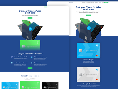 Landing page - left or right