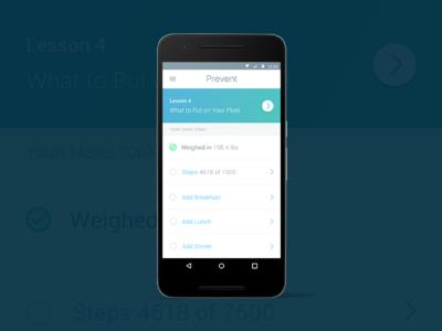 Prevent Dashboard / Task list track todo list task dashboard prevent android