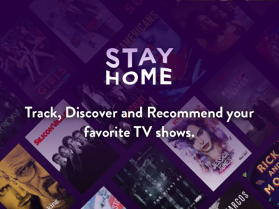 Stayhome tv show tv shows stayhome netflix tracking discover television show tracker track watchlist tv