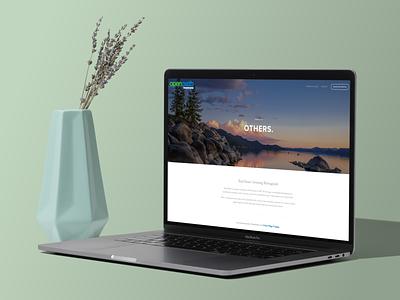 Open Path Investments Website website website design squarespace design marketing agency website concept clean design