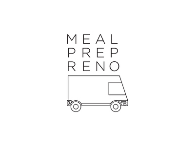 Meal Prep Reno Branding brand identity food and drink marketing agency clean design minimalistic brand design branding design