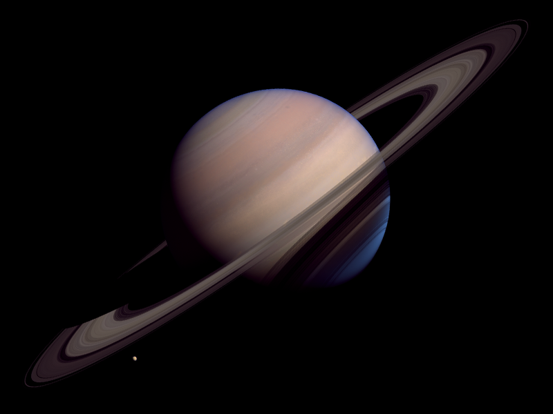 Saturn space blender3d saturn