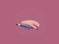 Pencil Spin