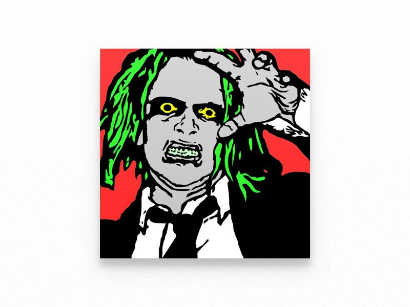 Happy halloween illustration zombie halloween