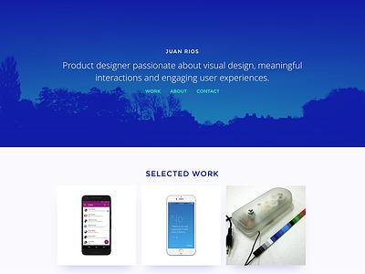 New website designer ui ux portfolio responsive webdesign web